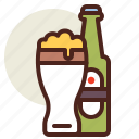 beer, fastfood, meal, restaurant icon