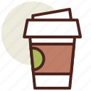 coffee, fastfood, meal, restaurant icon