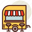 fastfood, food, meal, restaurant, truck icon