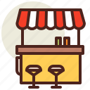 fastfood, foodcart04, meal, restaurant icon