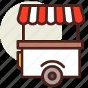 fastfood, hotdog, meal, restaurant, vendor