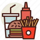fastfood, meal, meal3, restaurant icon