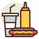 fastfood, meal, meal4, restaurant icon