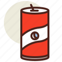 can, fastfood, meal, restaurant, soda icon