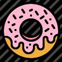 baker, dessert, donut, doughnut, sweet