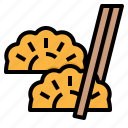 chinese, dessert, dumpling, food, steam icon