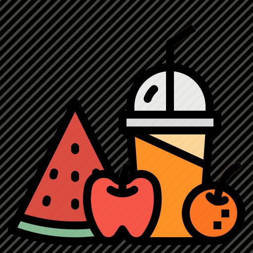 drink, fresh, fruit, healthy, juice icon