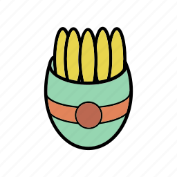 food, fries, meal, restaurant, snacks icon
