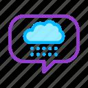 cloud, frame, nature, rain, sky, weather