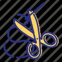 craft, hobby, leisure, sew icon