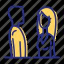 chat, conversation, meet a friend, talk icon