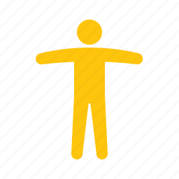 arms, stretched icon