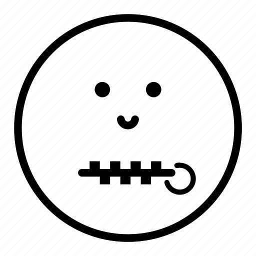 Talking Face Icon