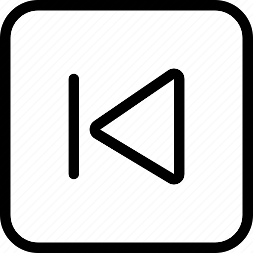 audio, control, media, previous icon