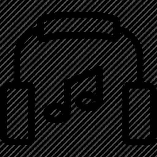 audio, headphone, player, sound icon
