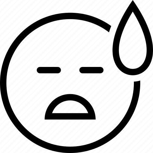 expression, face, person, sad icon