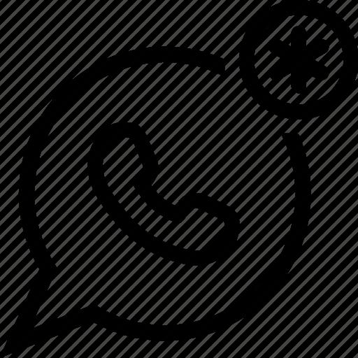 chat, communication, phone, whatsapp icon