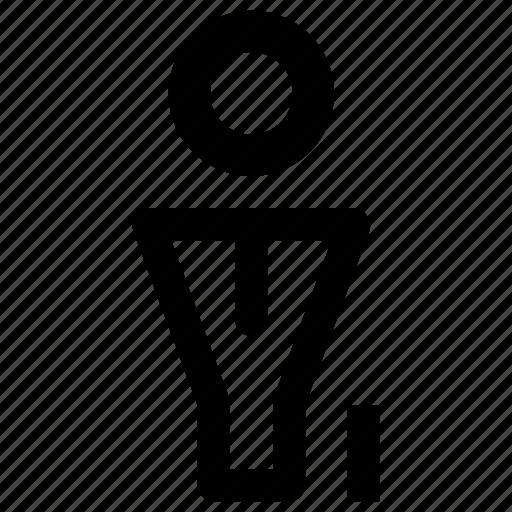 employee, profile, user, users, work, worker icon