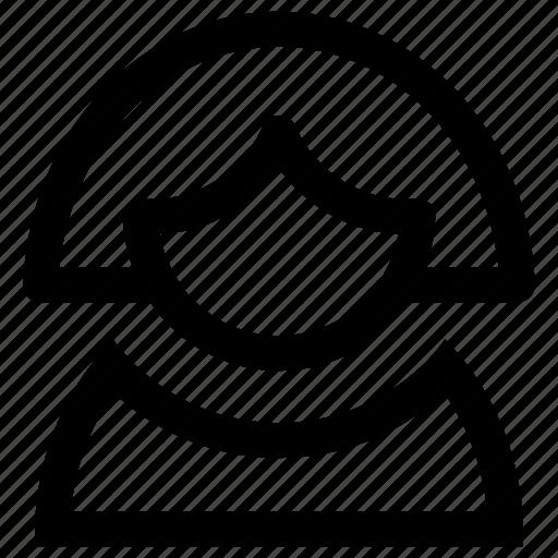 account, avatar, female, login, profile, user, woman icon