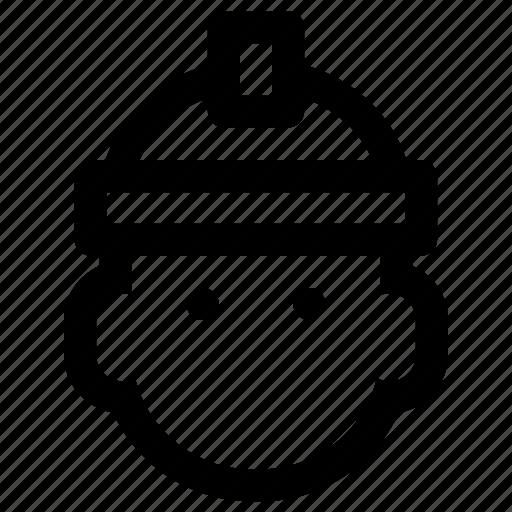 account, avatar, login, miner, profile, user, worker icon