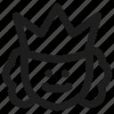 commander, face, head, king, order, profile, user icon