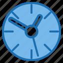 cinema, clock, entertainment, media, studio, time, watch icon