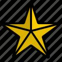 cinema, entertainment, favorite, heart, media, star, studio icon