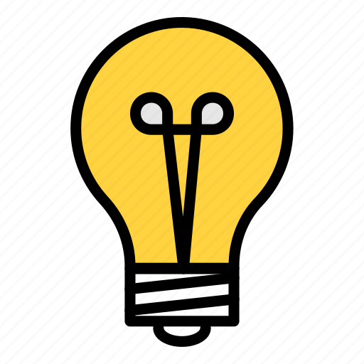 bulb, concept, discover, idea, solution icon