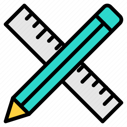 design, graphic, graphic design, graphics, paint, pencil, rule, streamline, web design icon