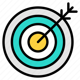 bullseye, goal, mission, target, victory icon