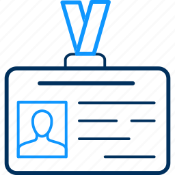 badge, icard, identification, identity icon