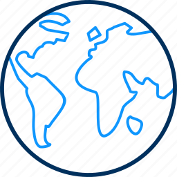 global, globe, gps, location icon