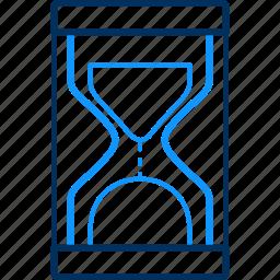 hourglass, sandglass icon