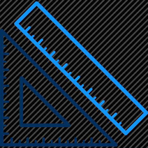 geometry, stationery icon
