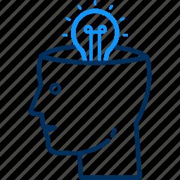 creative, creativity, idea icon
