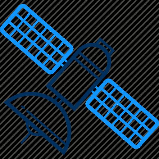 antenna, dish, network, signal, technology, wifi, wireless icon