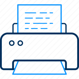 document, page, paper, print, printer, printing icon