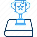 champion, trophy, achievement, prize, star, victory, winner icon