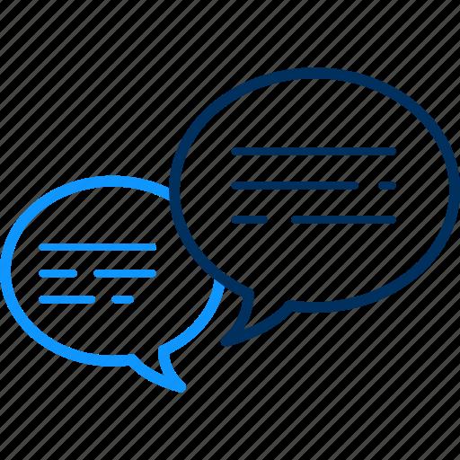 chat, communication, conversation, feedback, message, talk, user icon