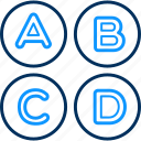 alphabet, alphabets, special, abc, classes, education, english icon