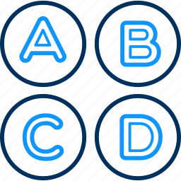 abc, alphabet, alphabets, classes, education, english, special icon