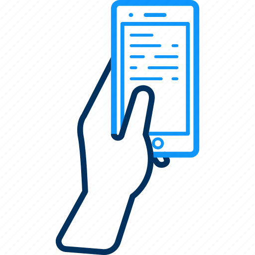 message, mobile, phone icon