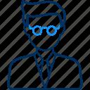 male, teacher, profile, account, avatar, face