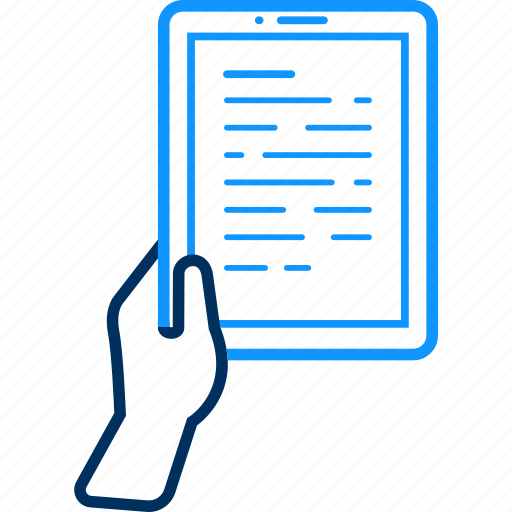 computer, device, screen, tab, tablet, technology, text icon