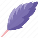feather, instrument, tool, write icon