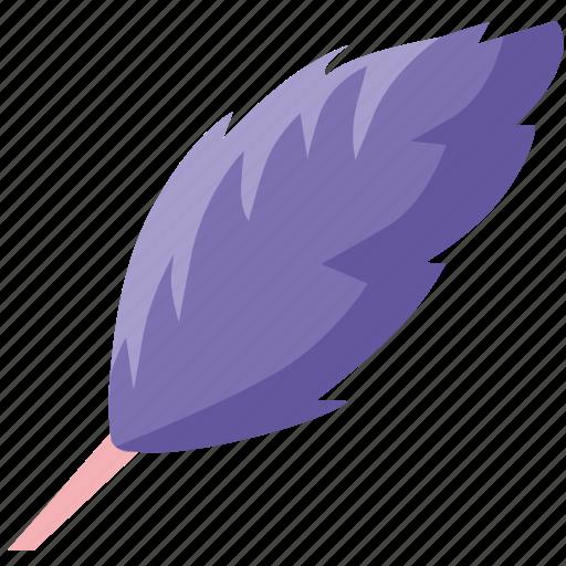 feather, instrument, tool, write icon