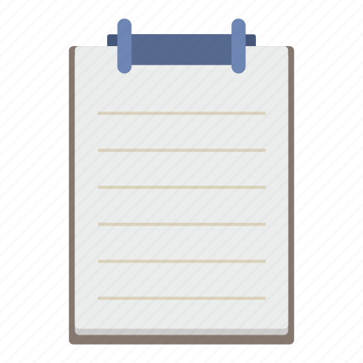 board, document, notepad, paper, student, tool icon