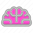 brain, education, mind, study icon