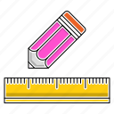 creative, design, education, graphic, pen, school, study icon