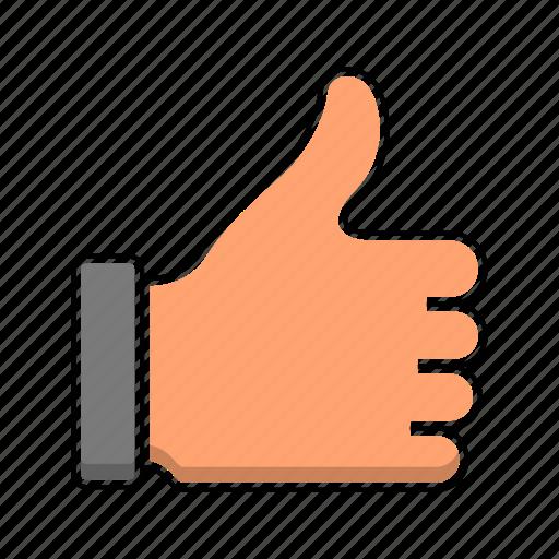best, gesture, hand, like, vote icon